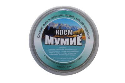 Натуральный крем «Мумие»(без химии) 50 мл.