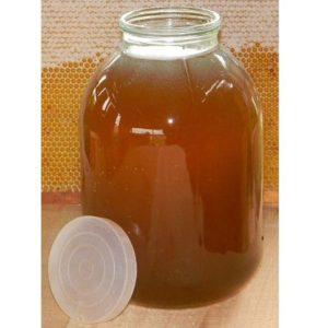 Гречишный мед (настоящий) 1 кг.