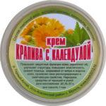 Натуральный крем «Крапива с календулой»(без химии) 50 мл.