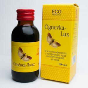 Огнёвка-Люкс (С экстрактами трав для щитовидной железы) 100 мл.