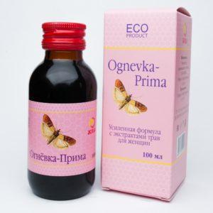Огнёвка-Прима (C экстрактами для женщин) 100 мл.