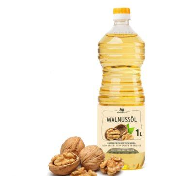 Масло грецкого ореха раф. 1л